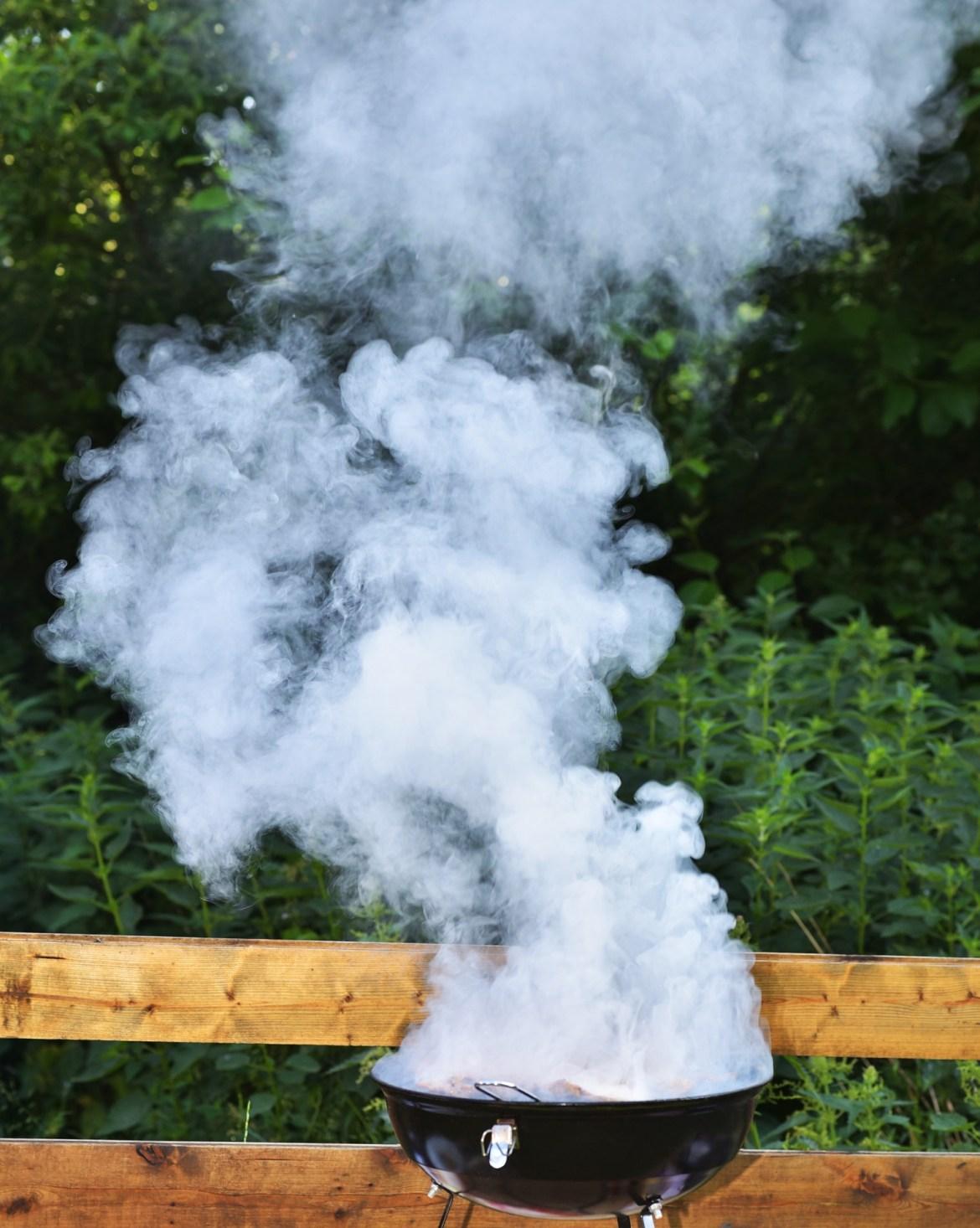 using smoker grills