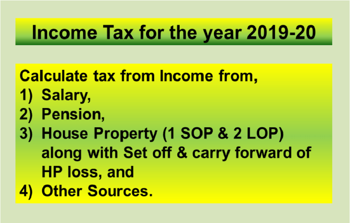 Income Tax Calculator For Fy 2019 20 Ay 2020 21 Excel Download