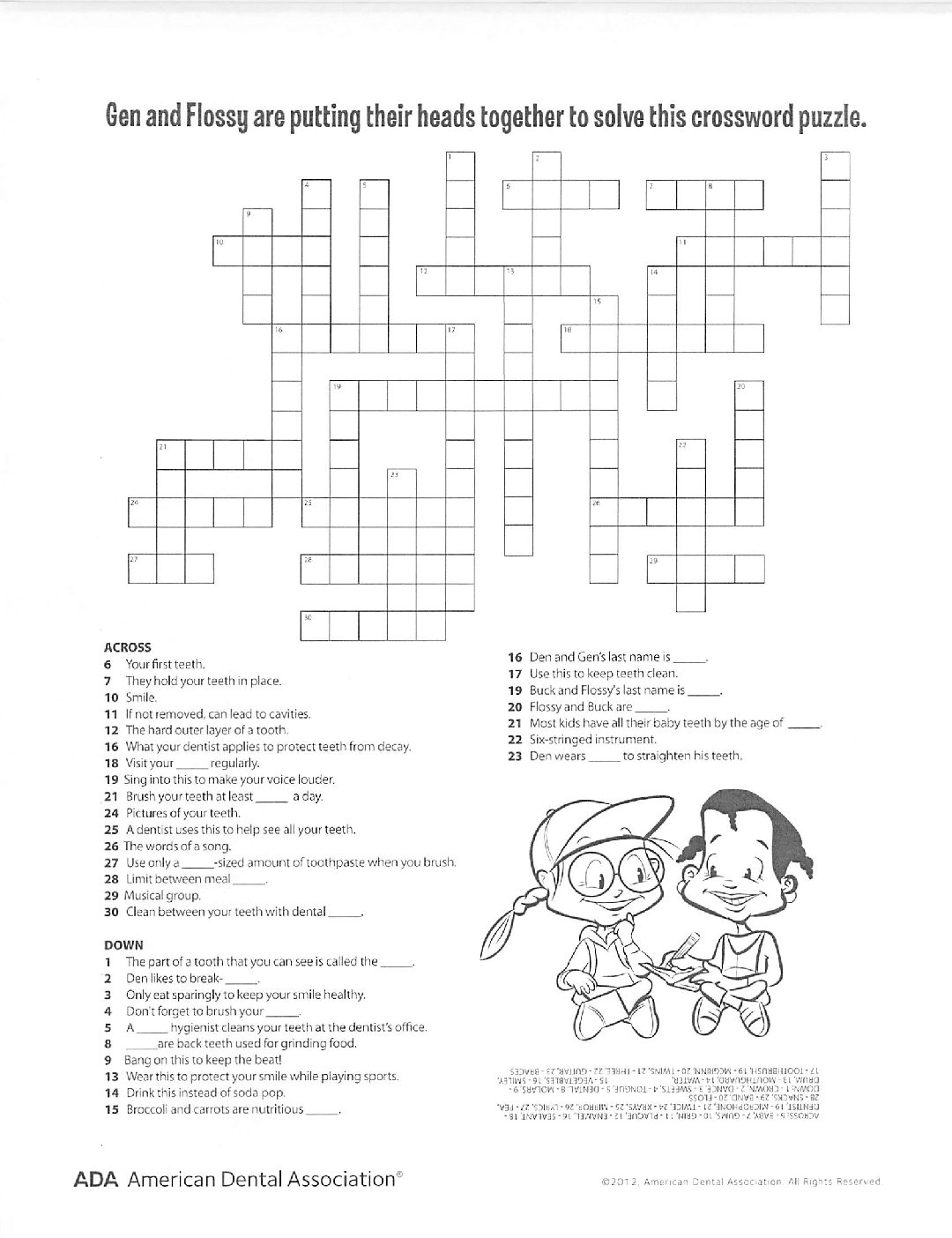 hight resolution of ada crossword pdf