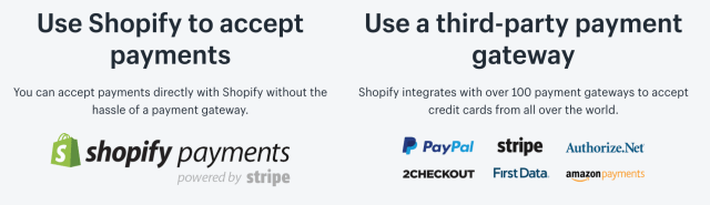 Shopify Payments vs. Third Party Payment Providers