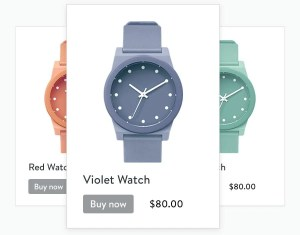 Shopify Lite Buy now button example