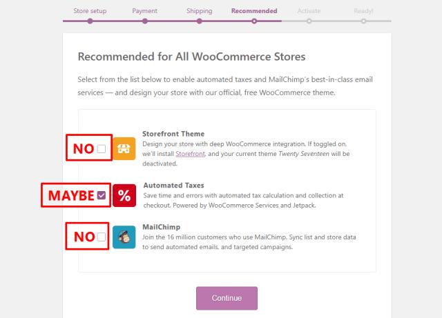WooCommerce extras
