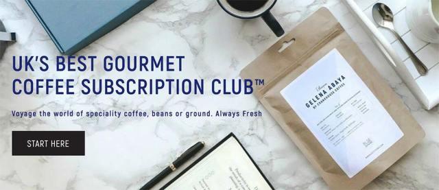 Blue Coffee Box