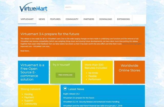 VirtueMart Opensource eCommerce