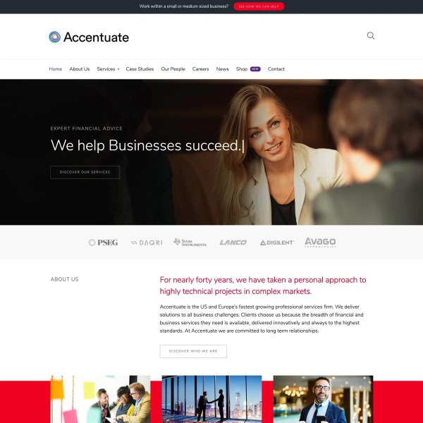 Accentuate WordPress Theme