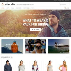 Adrenalin WooCommerce Theme