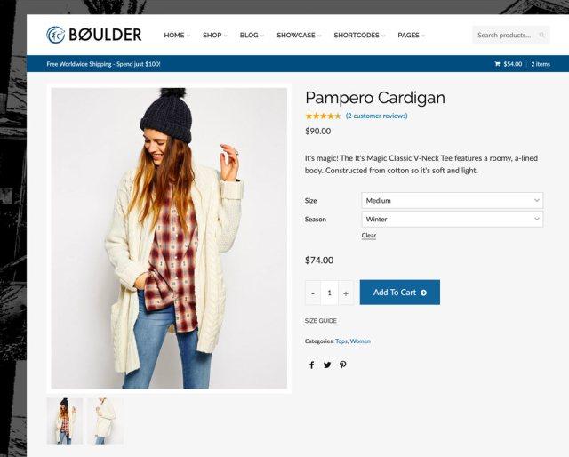 Boulder product details