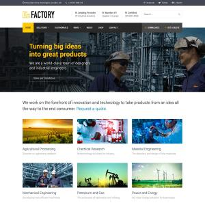 Factory WordPress Theme