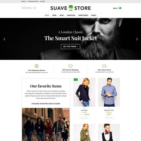 Suave WooCommerce Theme
