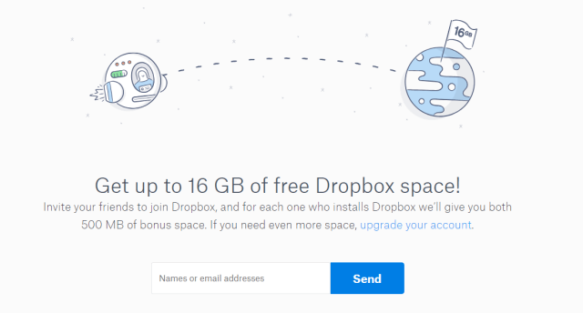 Dropbox example