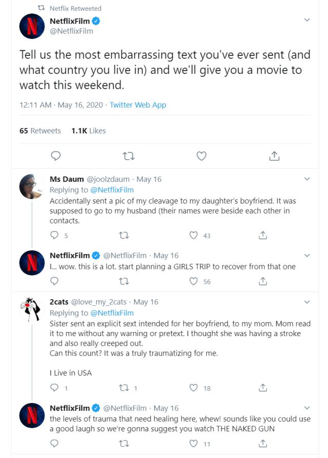 Netflix Film on Twitter