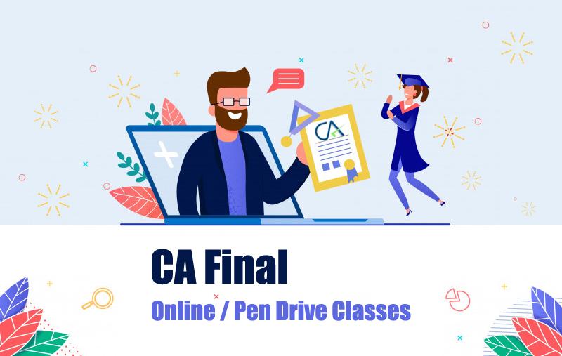 CA Final Online Pendrive Classes