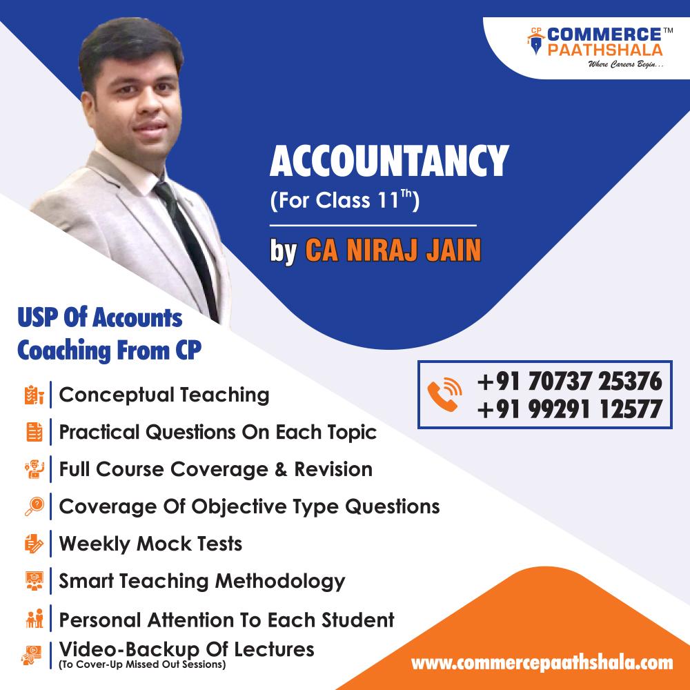 Class 11th Commerce Accountancy