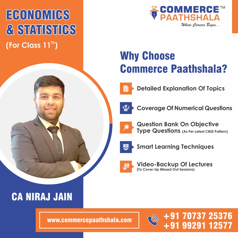 Class 11th Economics (Microeconomics & Statistics)