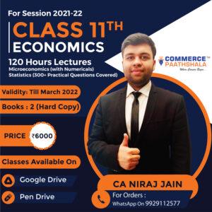 Class 11th Economics