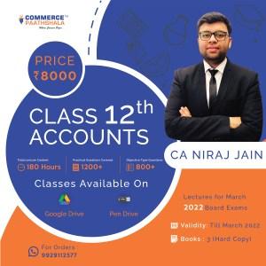 Class 12th Accounts