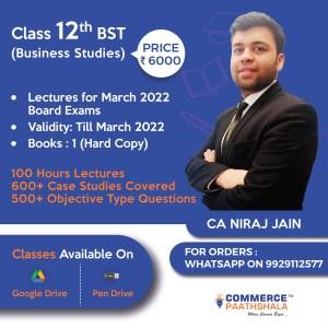 Class 12th Business Studies
