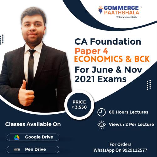 CA Foundation Economics & BCK Paper 4