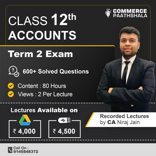Class 12 Accounts – Term 2 (Pen Drive or Google Drive with Printed Books)