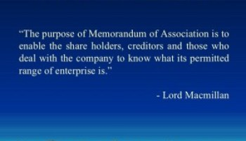Image result for memorandum of association image