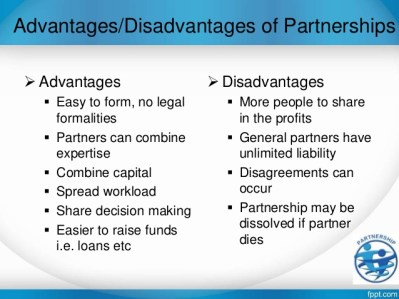 Advantages and Disadvantages of Partnership,