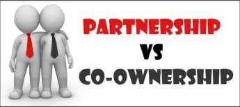 Co-ownership vs Partnership