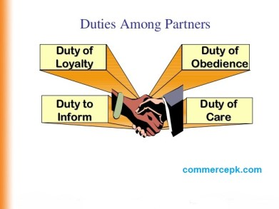 Rights and Duties of Partners