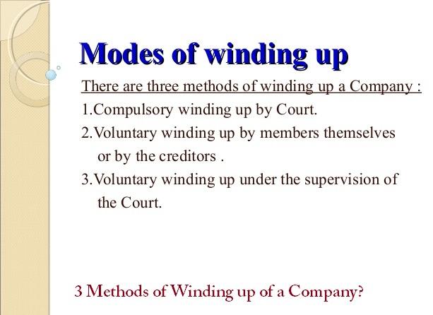 Liquidating business definition
