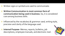 What is Written Communication: Meaning, Advantages and Limitations