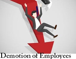 demotion of employees