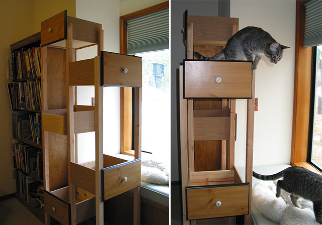 Catification Build Your Own Custom Cat Tree Using Re