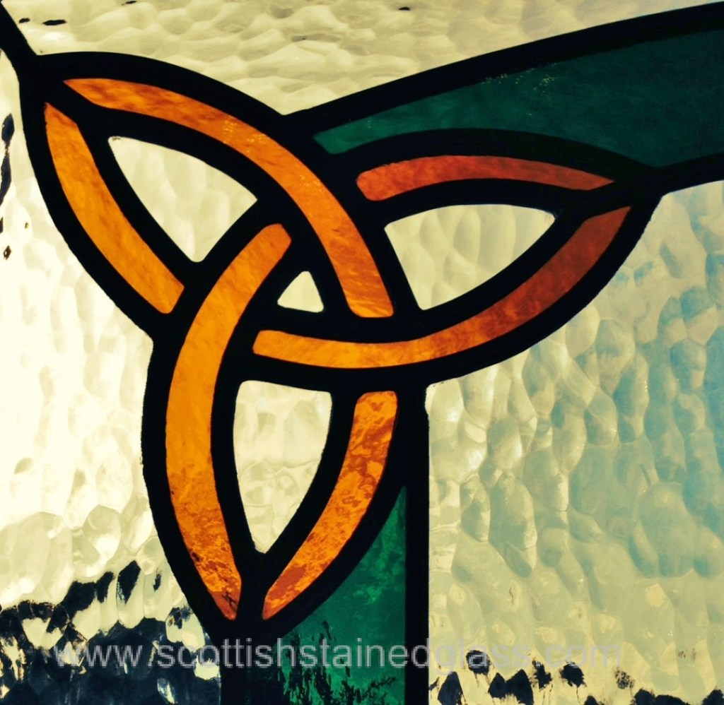 Celtic Stained Glass tri