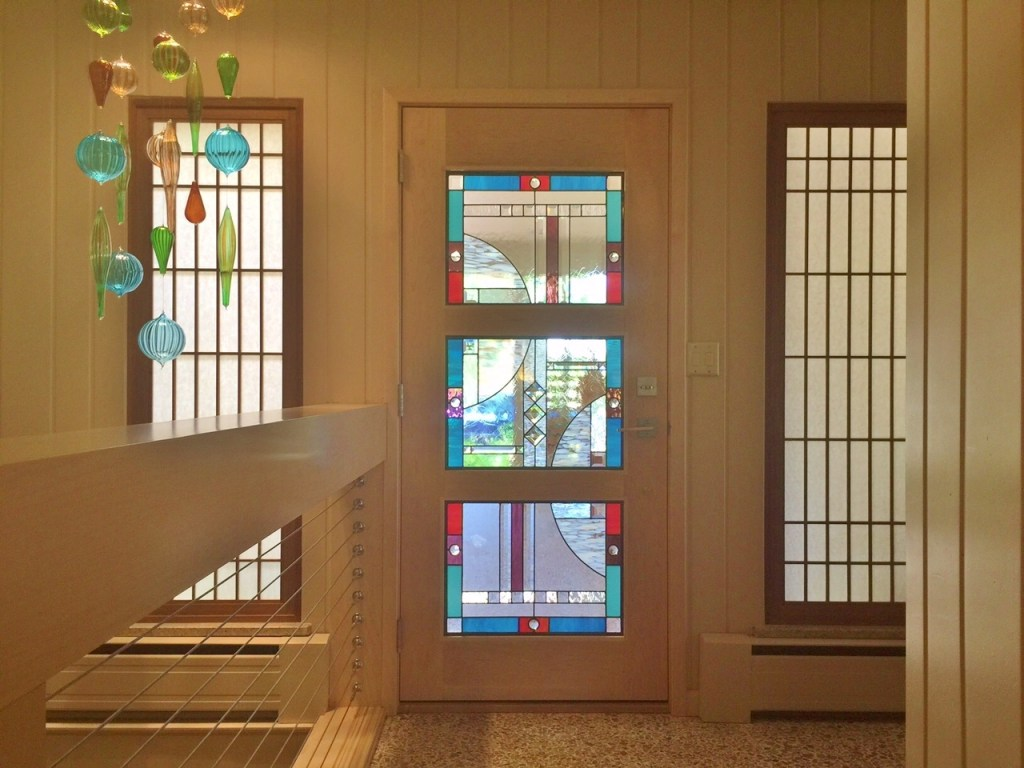 Entryway Stained Glass squares