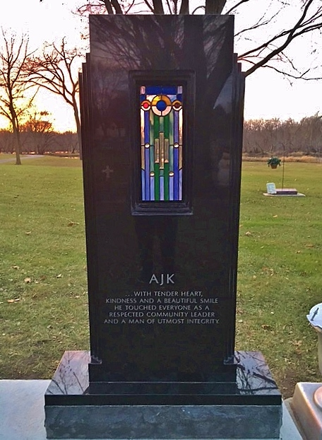 Grave Stained Glass