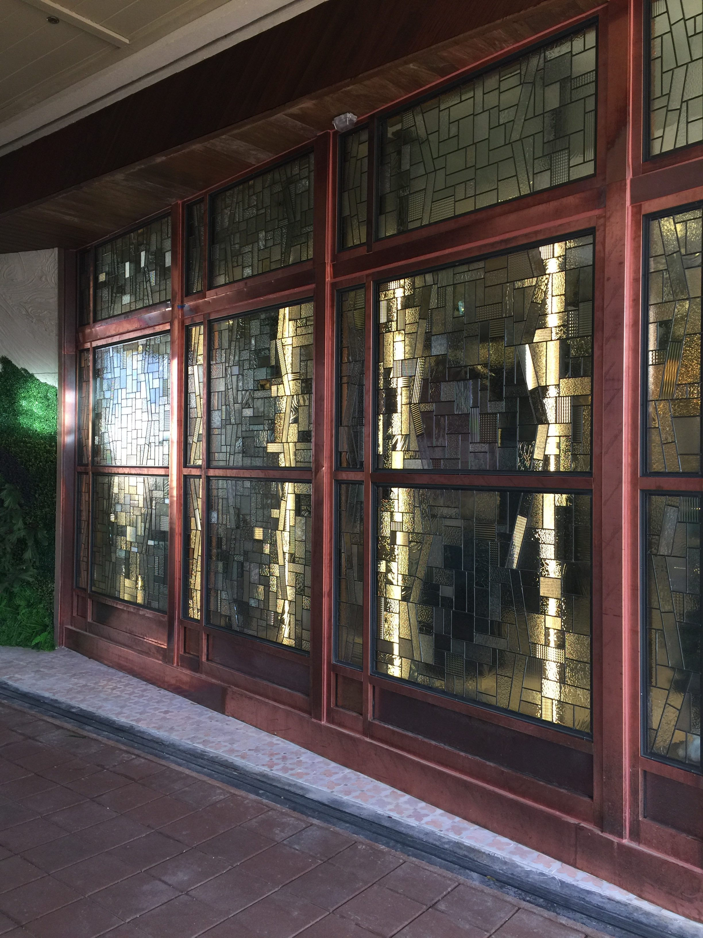 commercial stained glass art washington dc