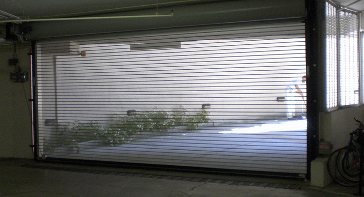 Ventilated Commercial Doors  Perfect Visibility and