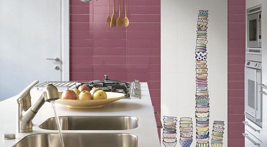 Piastrelle e rivestimenti per la Cucina  Commerciale Edile  Milano