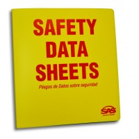 SDS Compliance 3-Ring Binder