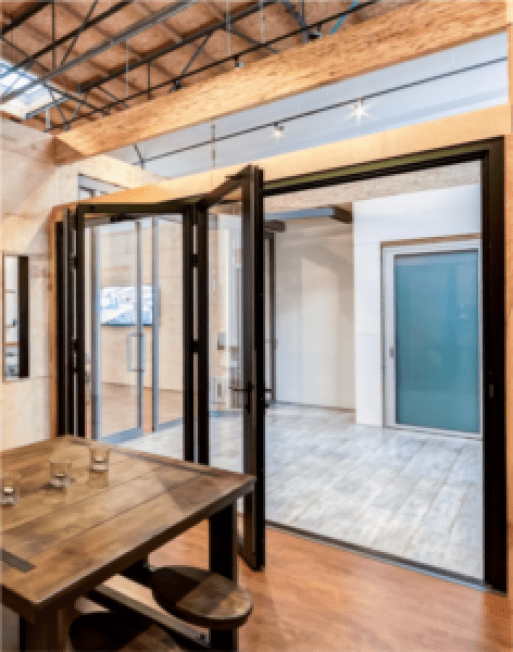 Commercial Glass Door Storefront Window Replacement Las Vegas folding glass wall systems 2
