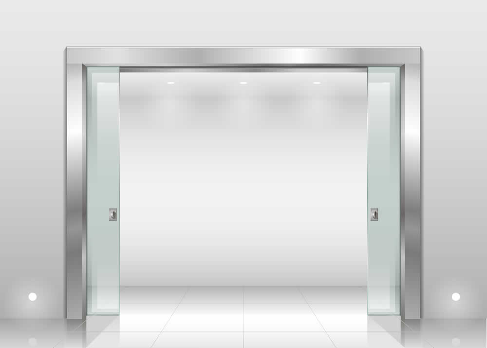 Commercial Heavy Glass Sliding Door Design And Installation
