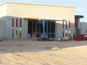 Curtain Wall Somerset Middle School