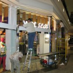 Storefront Wet Seal Mall Front