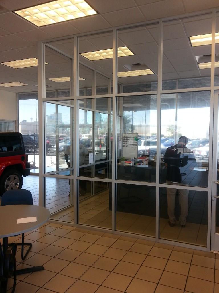 Custom Commercial Glass Walls