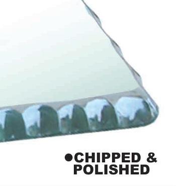 Chipped & Polish Edge Finish