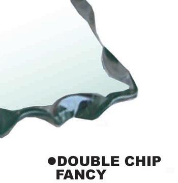 Double Chip Fancy Edge Finish