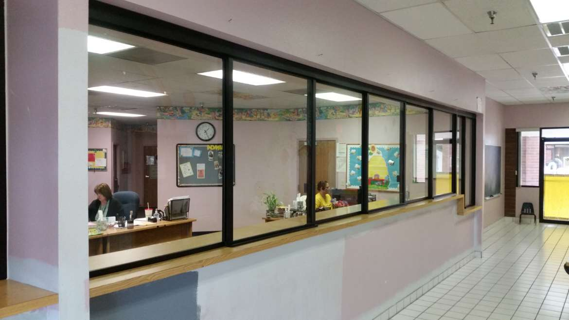 Commercial Sliding Reception Windows Commercial Glass