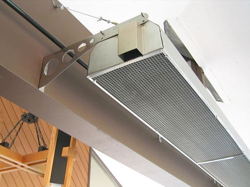 Calcana A Series commercial ventable heaters