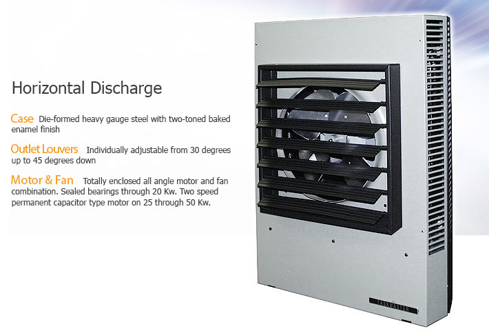 33kw 100kw Horizontal Or Vertical Discharge Fan Forced