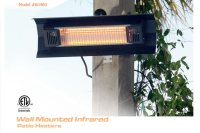Patio Heater Electric | Wall Mount Electric Heater