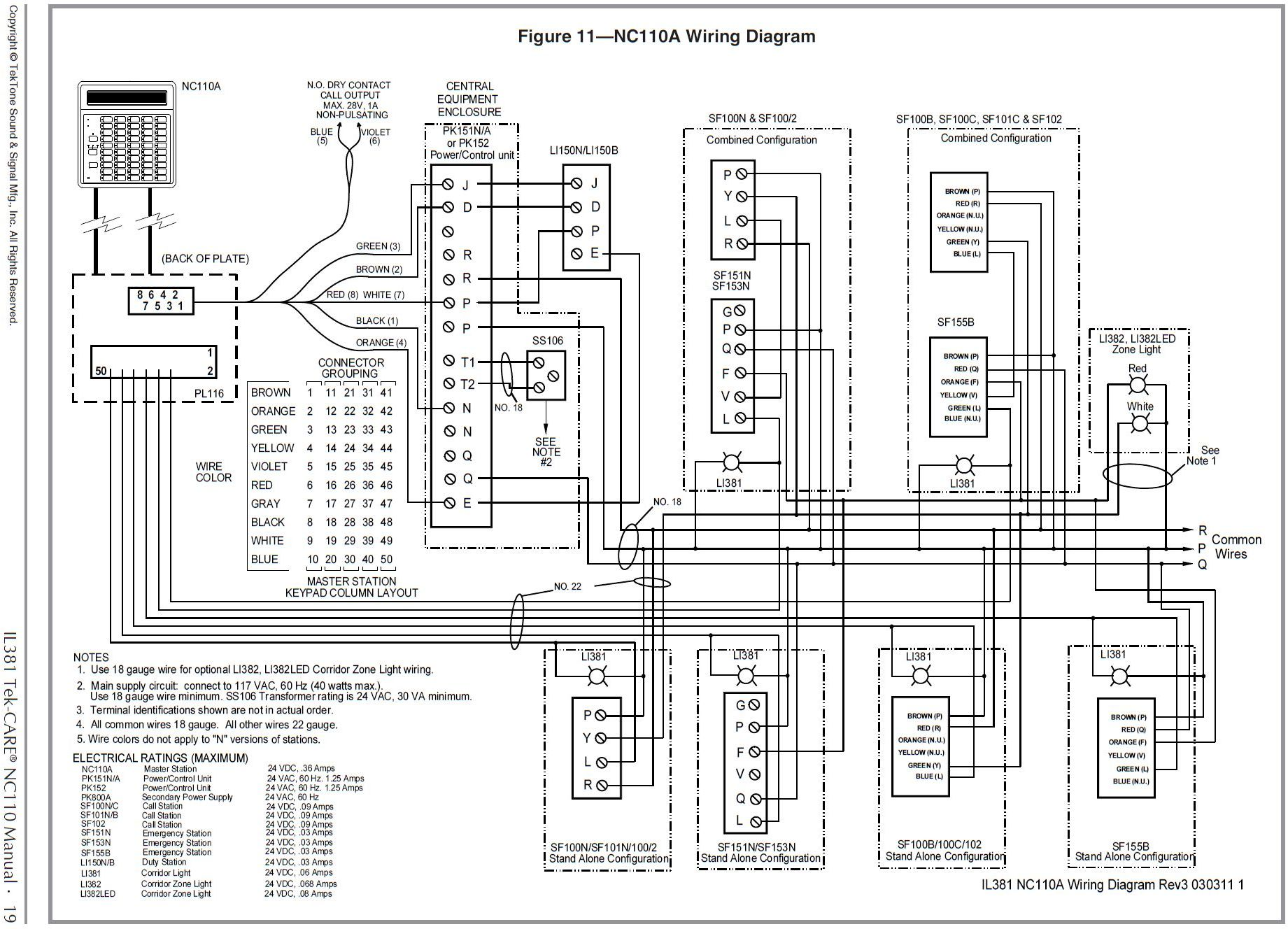 hight resolution of pk152 tektone power and control unit wiring diagram rh commercialintercoms com horn wiring diagram a c compressor